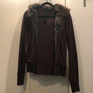 Faux Fur BB Dakota Sweatshirt